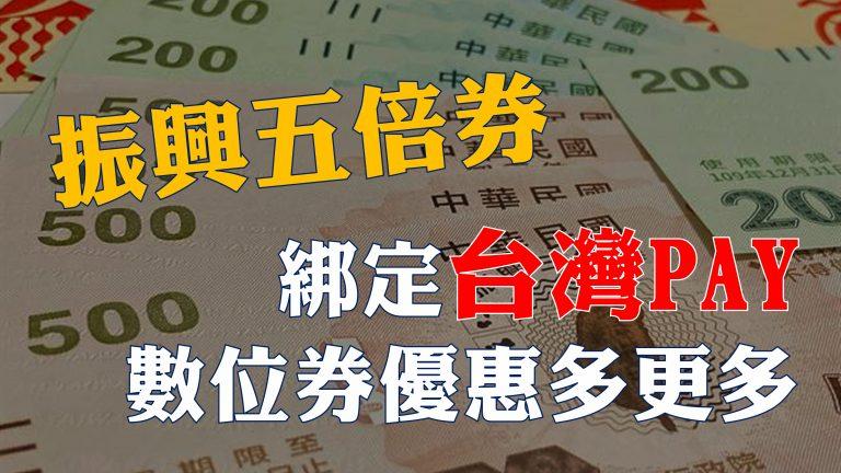 五倍券也要順便愛地球!台灣PAY綁定數位券還可以享有高額回饋金!